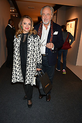 RAINER & PATRICIA ZIETZ at the PAD London 2015 VIP evening held in the PAD Pavilion, Berkeley Square, London on 12th October 2015.