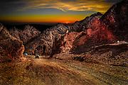 Aravah desert landscape, Near Eilat, Israel