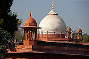 Tombs of Maids of Honour, part of The Taj Mahal complex in Uttar Pradesh, India