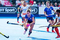 Londen - Van Italie tijdens de cross over wedstrijd India-Italie (3-0) bij het WK Hockey 2018 in Londen . In  COPYRIGHT KOEN SUYK
