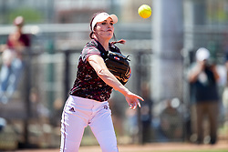 Kentucky vs. Texas A&M in a NCAA softball game Sunday, April 15, 2018, in College Station, Texas.