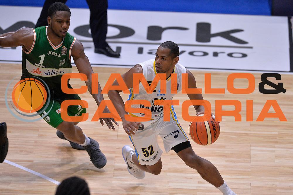 Tu Holloway<br /> Vanoli Cremona - Sidigas Avellino<br /> Lega Basket Serie A 2016/2017<br /> Cremona, 18/12/2016<br /> Foto Ciamillo-Castoria