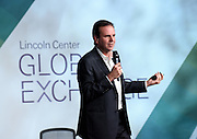 Rio de Janeiro Mayor Eduardo Paes speaks at the inaugural Lincoln Center Global Exchange, Friday, Sept. 18, 2015 in New York. The event brought together 250 international thought leaders and change agents from business, government, education, media, science and the arts focused on advancing arts and culture as an engine for innovation and progress. <br /> (Photo by Diane Bondareff/Invision for Lincoln Center Global Exchange/AP Images)