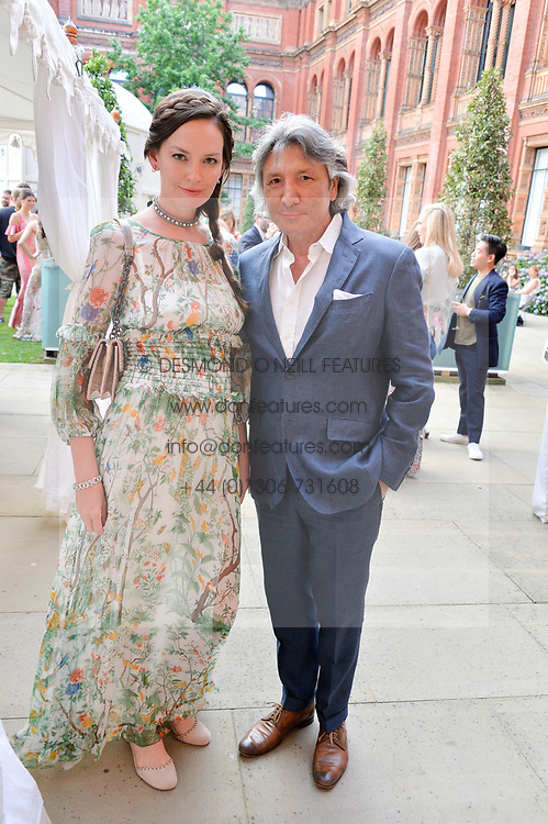 Leon & Yana Max at the V&A Summer Party 2017 held at the Victoria & Albert Museum, London England. 21 June 2017.