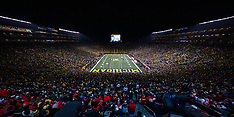 University of Michigan vs University of Wisconsin at the Big House 10/13/2018