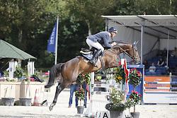 055 - Famous H - Maarse Dave (NED)<br /> 4 Jarige Finale Springen<br /> KWPN Paardendagen - Ermelo 2014<br /> © Dirk Caremans