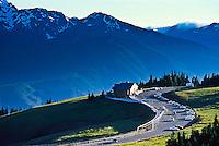 Visitor Center on Hurricane Ridge, Olympic National Park. Washington, USA.
