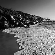 The Runner, Nobbys Breakwater, Coastline Series, Views of Eastern Australia Coast