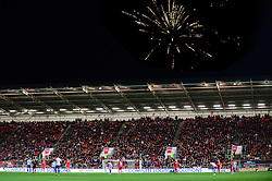 Fireworks over the top of the South Stand - Mandatory by-line: Dougie Allward/JMP - 05/11/2016 - FOOTBALL - Ashton Gate - Bristol, England - Bristol City v Brighton and Hove Albion - Sky Bet Championship