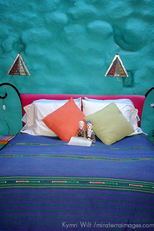 North America, Mexico, Guanajuato. Casa Azul at Inn of the Happy Spirits