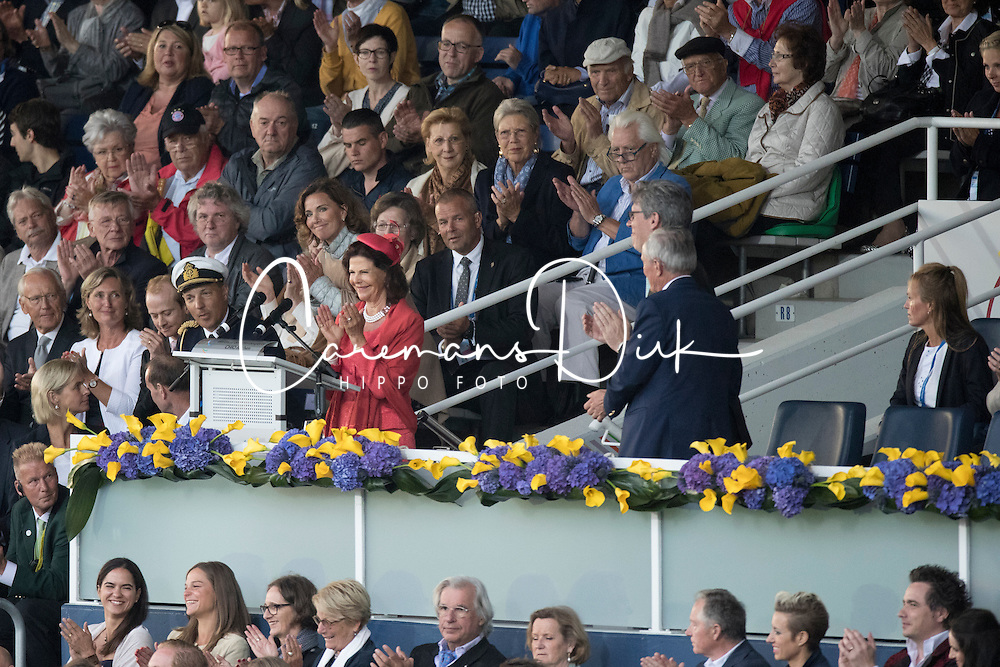 Her Majesty Queen Silvia <br /> Opening Ceremony<br /> CHIO Aachen 2016<br /> &copy; Hippo Foto - Dirk Caremans<br /> 12/07/16
