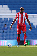 Steven N'zonzi during the Pre-Season Friendly match between Brighton and Hove Albion and Sevilla at the American Express Community Stadium, Brighton and Hove, England on 2 August 2015. Photo by Stuart Butcher.