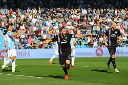 """Foto LaPresse/Filippo Rubin<br /> 03/03/2019 Ferrara (Italia)<br /> Sport Calcio<br /> Spal - Sampdoria - Campionato di calcio Serie A 2018/2019 - Stadio """"Paolo Mazza""""<br /> Nella foto: ESULTANZA SECONDO GOAL FABIO QUAGLIARELLA (SAMPDORIA)<br /> <br /> Photo LaPresse/Filippo Rubin<br /> March 03, 2019 Ferrara (Italy)<br /> Sport Soccer<br /> Spal vs Sampdoria - Italian Football Championship League A 2018/2019 - """"Paolo Mazza"""" Stadium <br /> In the pic: CELEBRATION SECOND GOAL FABIO QUAGLIARELLA (SAMPDORIA)"""