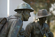 The Devonshire and Dorset Regiment Memorial at the National Memorial Arboretum, Croxall Road, Alrewas, Burton-On-Trent,  Staffordshire, on 29 October 2018. Picture by Mick Haynes.