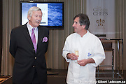"Soiree benefice pour de ITHQ ""Les Grand Chefs"" avec Le chef  Olivier Roellinger  -  Fairmount - Reine Elizabeth / Montreal / Canada / 2010-04-30, (C) Photo Marc Gibert / adecom.ca"