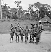 Pygmies (Mbuti), Ituri Forest, Belgian Congo (Democratic Republic of the Congo), Africa, 1937