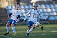 FODBOLD: Michelle Bentsen (Herlufsholm GF) under kampen i Sjællandsserien mellem Ølstykke FC og Herlufsholm GF den 9. april 2019 på Ølstykke Stadion. Foto: Claus Birch