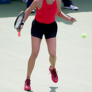 2017 U.S. Open Tennis Tournament - DAY FOURTEEN. Amanda Anisimova of the United States celebrates her victory against Cori Gauff of the United States in the Junior Girls' Singles Final at the US Open Tennis Tournament at the USTA Billie Jean King National Tennis Center on September 10, 2017 in Flushing, Queens, New York City.  (Photo by Tim Clayton/Corbis via Getty Images)