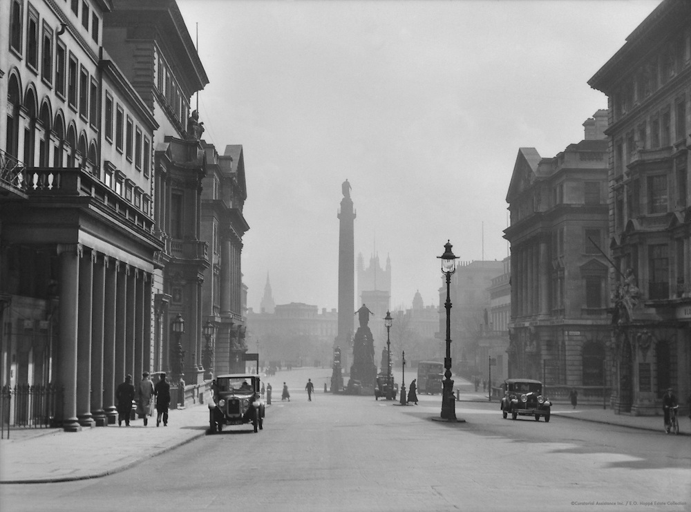 Westminster from St. James's Street, London, 1929
