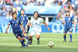 June 10, 2019: Paris, France: Miriam Mayorga of Argentina and Miura  Japan game valid for group D of the first phase of the Women's Soccer World Cup in the Parc Des Princes. (Credit Image: © Vanessa Carvalho/ZUMA Wire)