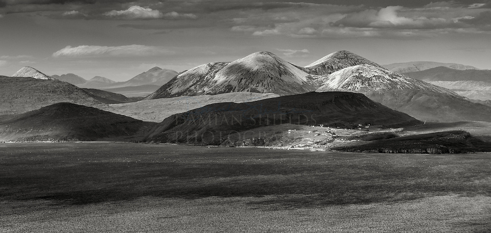 Elgol and the Red Cuillin from the Isle of Rum
