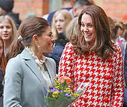 Kate & Princess Victoria Visit Matteusskolan School