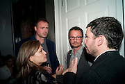 SHEBA RONAY;  JAMIES THEAKSTON; JONATHAN YEO; GILES COREN; , ' You're Only Young Twice' Jonathan Yeo exhibition. Lazarides. 11 Rathbone Place. London. 9 December 2011.