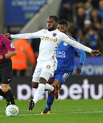 VURNON ANITA  LEEDS UNITED, Leicester City v Leeds United EFL League Carabao Cup  Fourth Round, King Power Stadium Tuesday 24th October 2017, Score 2-1, Photo:Mike Capps