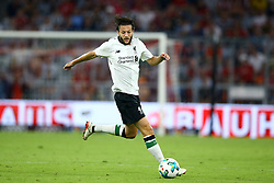 August 1, 2017 - Munich, Germany - Adam Lallana of Liverpool during the second Audi Cup football match between FC Bayern Munich and FC Liverpool in the stadium in Munich, southern Germany, on August 1, 2017. (Credit Image: © Matteo Ciambelli/NurPhoto via ZUMA Press)