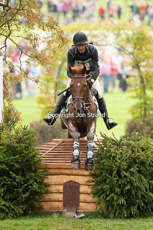 Mark Todd (NZL) & Major Milestone - Cross Country - The Land Rover Burghley Horse Trials - Stamford, Lincolnshire, United Kingdom - 3 September 2011