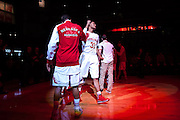 November 30, 2013: Shavon Shields (31) of the Nebraska Cornhuskers introduced before the game against the Northern Illinois Huskies at the Pinnacle Bank Areana, Lincoln, NE. Nebraska defeated Northern Illinois 63 to 58.