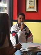 David Nazario, author of Make Love Your Religion, Interviewed at Mia Casa Su Casa, Reading, Berks Co., PA