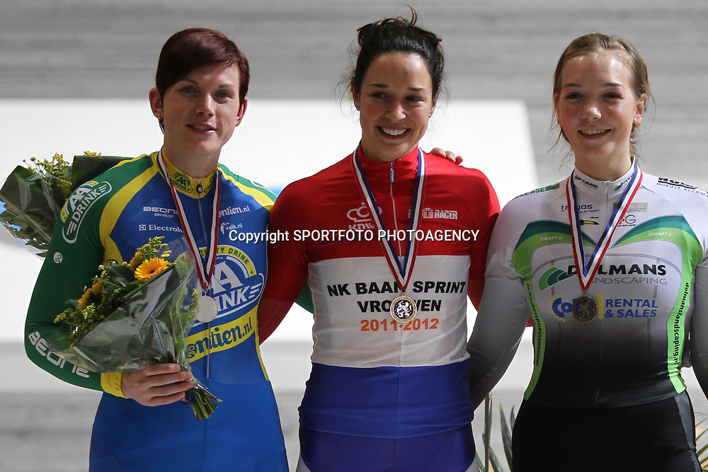 Yvonne Hijgenaar werd Nederlands kampioene sprint voor Willy Kanis en Shanne Braspennicx