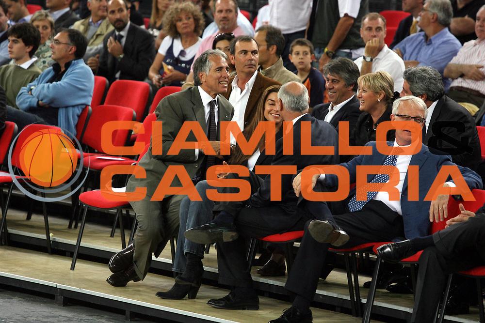 DESCRIZIONE : Roma Lega A1 2006-07 Playoff Quarti di Finale Gara 3 Lottomatica Virtus Roma Eldo Napoli<br />GIOCATORE : Giovanni Malago<br />SQUADRA : <br />EVENTO : Campionato Lega A1 2006-2007 Playoff Quarti di Finale Gara 3 <br />GARA : Lottomatica Virtus Roma Eldo Napoli<br />DATA : 22/05/2007 <br />CATEGORIA : Ritratto<br />SPORT : Pallacanestro <br />AUTORE : Agenzia Ciamillo-Castoria/G.Ciamillo