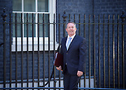 Cabinet meeting arrivals <br /> Downing Street, London, Great Britain <br /> 19th July 2016 <br /> <br /> New members of the Cabinet <br /> arriving ahead of the first cabinet meeting chaired by Theresa May <br /> <br /> Liam Fox<br /> International trade<br /> <br /> <br /> Photograph by Elliott Franks <br /> Image licensed to Elliott Franks Photography Services