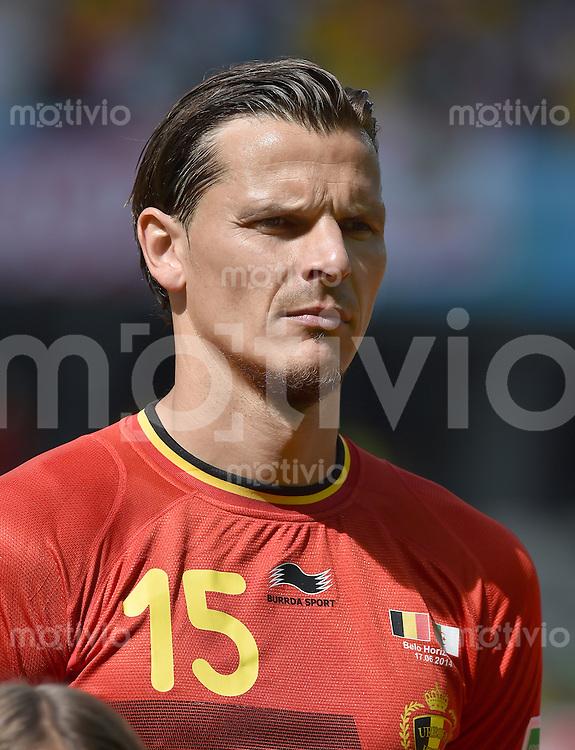 FUSSBALL WM 2014  VORRUNDE    Gruppe H     Belgien - Algerien                       17.06.2014 Daniel van Buyten (Belgien)