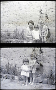 mother and children happy moment vintage 1900s