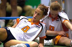 19-06-2000 JAP: OKT Volleybal 2000, Tokyo<br /> Nederland - Japan 1-3 / Erna Brinkman, Chaine Staelens