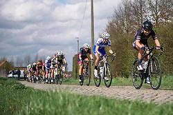Maaike Polspoel (Lensword Zannata) - Grand Prix de Dottignies 2016. A 117km road race starting and finishing in Dottignies, Belgium on April 4th 2016.