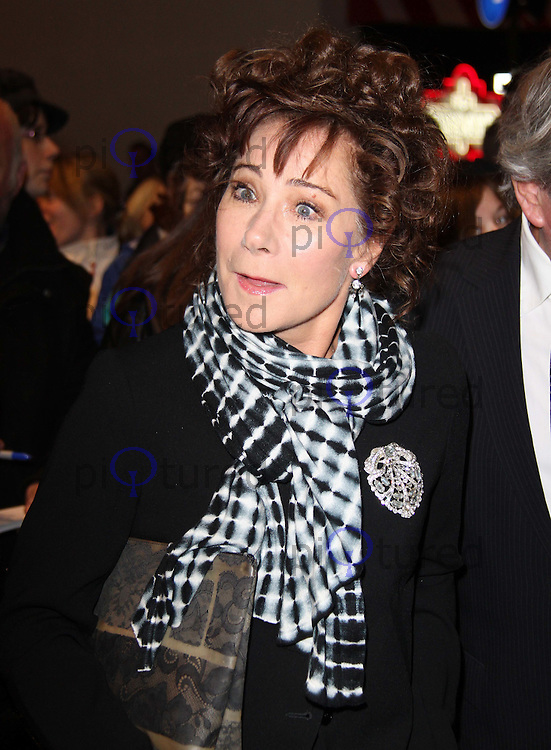 Zoe Wanamaker Whatsonstage.com Theatregoers' Choice Awards Concert, Prince of Wales Theatre, London, UK, 20 February 2011: Contact: Ian@Piqtured.com +44(0)791 626 2580 (Picture by Richard Goldschmidt)