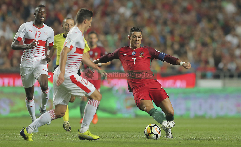 October 10, 2017 - Na - Lisbon, 10/10/2017 - The Portuguese football team received their Swiss counterpart tonight in the last game of the group stage to qualify for the 2018 FIFA World Cup in Russia , next June. Portugal won 2-0 to reach the final. Ronaldo  (Credit Image: © Atlantico Press via ZUMA Wire)