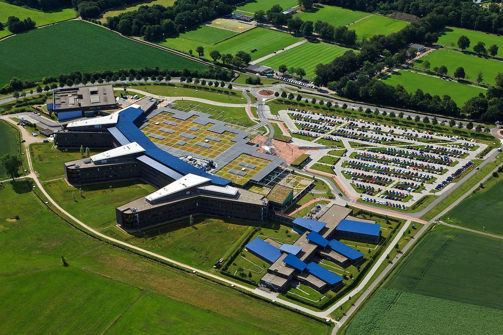 Nederland, Overijssel, Deventer, 30-06-2011; Deventer Ziekenhuis.luchtfoto (toeslag), aerial photo (additional fee required).copyright foto/photo Siebe Swart
