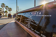 City of Huntington Beach Pier Plaza Monument