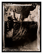 """""""Surfer Rosa #2"""" , (1988/1989). Artist's Proof. Image Size: 38cm x 48.5cm, Paper Size 40.6cm x 50cm, selenium toned silver gelatin lith print. Each silver gelatin print has been split-selenium toned using archival methods and is stamped, titled, signed on the reverse. Please email me at info@simon-larbalestier.co.uk for pricing, availability and shipping info. All prints are shipped from the United Kingdom."""