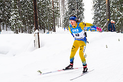 March 10, 2019 - –Stersund, Sweden - 190310 Anna Magnusson of Sweden during the Women's 10 km Pursuit during the IBU World Championships Biathlon on March 10, 2019 in Östersund..Photo: Petter Arvidson / BILDBYRÃ…N / kod PA / 92254 (Credit Image: © Petter Arvidson/Bildbyran via ZUMA Press)