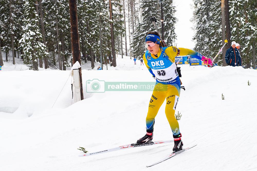 March 10, 2019 - –Stersund, Sweden - 190310 Anna Magnusson of Sweden during the Women's 10 km Pursuit during the IBU World Championships Biathlon on March 10, 2019 in Östersund..Photo: Petter Arvidson / BILDBYRÃ…N / kod PA / 92254 (Credit Image: © Petter Arvidson/Bildbyran via ZUMA Press)
