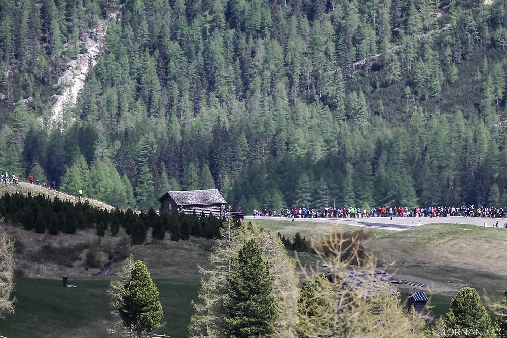 Giro D'Italia 2017 stage 18 (Moena - Ortisei, 137km)<br /> Pordoi Pass<br /> <br /> Photo: Tornanti.cc