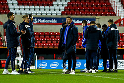 Bristol Rovers Under 18s arrive at Swindon Town For their FA Youth Cup fixture - Mandatory by-line: Robbie Stephenson/JMP - 29/10/2019 - FOOTBALL - County Ground - Swindon, England - Swindon Town v Bristol Rovers - FA Youth Cup Round One