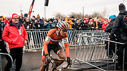 Marianne VOS of NED after the Women Elite race, UCI Cyclo-cross World Championship at Bieles, Luxembourg, 28 January 2017. Photo by Pim Nijland / PelotonPhotos.com | All photos usage must carry mandatory copyright credit (Peloton Photos | Pim Nijland)
