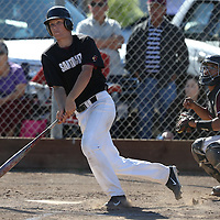 St Francis vs Santa Cruz in a Santa Cruz Coast Baseball Game at Santa Cruz High School, Santa Cruz CA on 4/15/16. (Photograph by Bill Gerth (williamgerth.com))